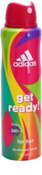 Adidas Get Ready! Deo Spray for Women 150 ml