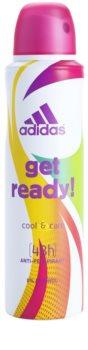 Adidas Get Ready! Cool & Care deo sprej za ženske 150 ml