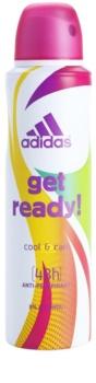 Adidas Get Ready! Cool & Care deospray per donna 150 ml