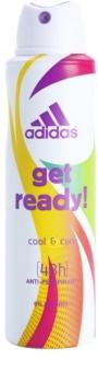 Adidas Get Ready! Cool & Care deospray pentru femei 150 ml