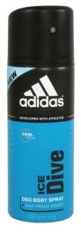 Adidas Ice Dive Deo-Spray für Herren 24 h 150 ml