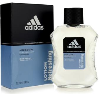 Adidas Skin Protect Lotion Refreshing borotválkozás utáni arcvíz férfiaknak 100 ml