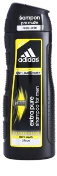 Adidas Extra Pure champô de limpeza anti-caspa