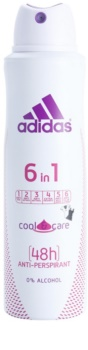 Adidas 6 in 1  Cool & Care Deo Spray for Women 150 ml