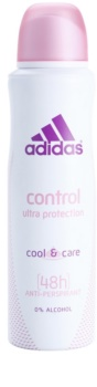 Adidas Control  Cool & Care deodorant Spray para mulheres 150 ml