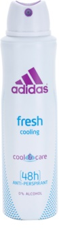 Adidas Fresh Cool & Care Αποσμητικό σε σπρέι για γυναίκες 150 μλ