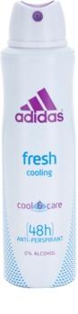 Adidas Fresh Cool & Care deodorant Spray para mulheres 150 ml