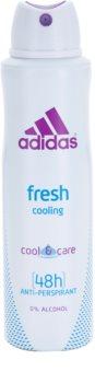 Adidas Fresh Cool & Care dezodor nőknek 150 ml