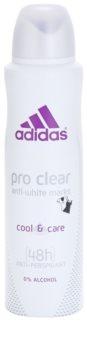 Adidas Pro Clear Cool & Care deospray pentru femei 150 ml