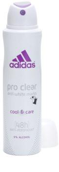 Adidas Pro Clear Cool & Care deospray pro ženy 150 ml