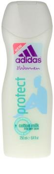 Adidas Protect crema de ducha para mujer 250 ml