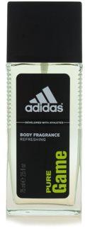 Adidas Pure Game déodorant avec vaporisateur pour homme 75 ml