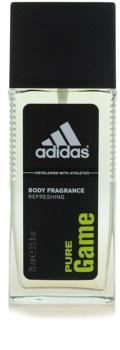 Adidas Pure Game déodorant avec vaporisateur pour homme