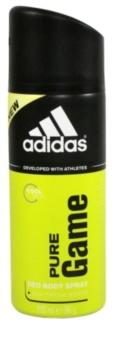 Adidas Pure Game deodorant spray para homens 150 ml