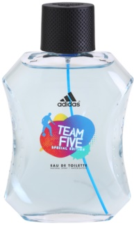 Adidas Team Five Eau de Toilette for Men 100 ml