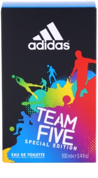 Adidas Team Five eau de toilette per uomo 100 ml