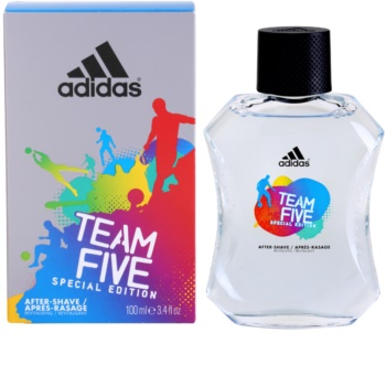 Adidas Team Five Aftershave Water for Men 100 ml