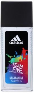 Adidas Team Five déodorant avec vaporisateur pour homme 75 ml