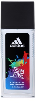 Adidas Team Five deodorant spray pentru bărbați 75 ml