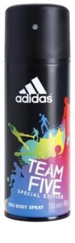 Adidas Team Five Αποσμητικό σε σπρέι για άνδρες 150 μλ