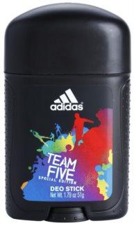 Adidas Team Five desodorante en barra para hombre 51 g