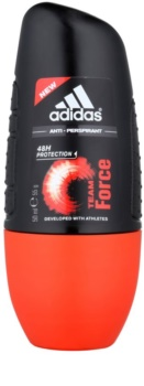 Adidas Team Force deodorante roll-on per uomo 50 ml