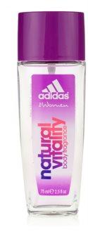 Adidas Natural Vitality desodorizante vaporizador para mulheres 75 ml