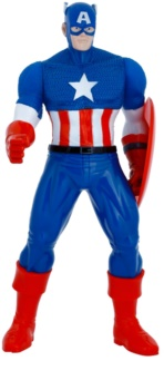Admiranda Avengers Captain America 3D espuma de banho e gel de duche 2 em 1 para crianças