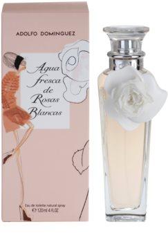 Adolfo Dominguez Agua Fresca de Rosas Blancas Eau de Toilette voor Vrouwen  120 ml