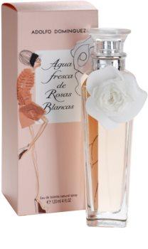 Adolfo Dominguez Agua Fresca de Rosas Blancas eau de toilette pour femme 120 ml