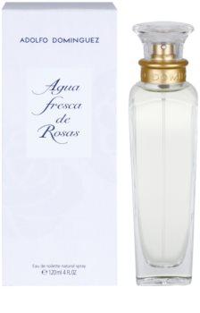 Adolfo Dominguez Agua Fresca de Rosas Eau de Toilette für Damen 120 ml