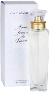 Adolfo Dominguez Agua Fresca de Rosas eau de toilette pour femme 120 ml