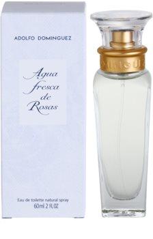 Adolfo Dominguez Agua Fresca de Rosas eau de toilette pour femme 60 ml