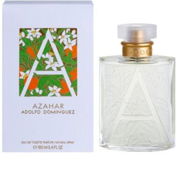 Adolfo Dominguez Azahar Eau de Toilette for Women 100 ml