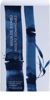 Adolfo Dominguez Agua de Bambú Eau de Toilette für Herren 120 ml
