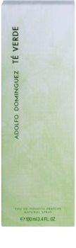 Adolfo Dominguez Té Verde Eau de Toilette voor Vrouwen  100 ml