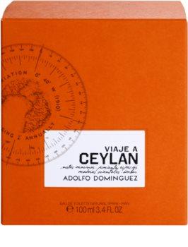 Adolfo Dominguez Viaje a Ceylan Eau de Toilette für Herren 100 ml