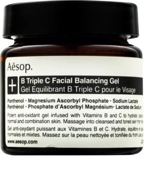 Aésop B Triple C Facila Balancing Gel antioxidační pleťový gel s vitamíny