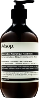 Aésop Aēsop Body Resurrection Aromatique hĺbkovo hydratačný balzam na ruky