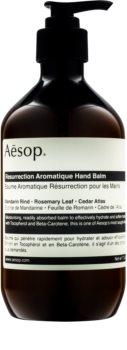 Aēsop Body Resurrection Aromatique baume hydratant en profondeur mains