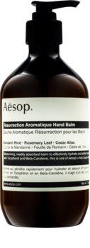 Aēsop Body Resurrection Aromatique Tiefenwirksames feuchtigkeitsspendendes Balsam für die Hände