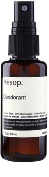 Aēsop Body deodorant ve spreji bez obsahu hliníku
