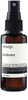 Aēsop Body dezodorant v spreji bez obsahu hliníka