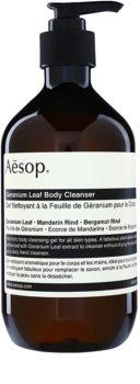 Aésop Body Geranium Leaf čisticí sprchový gel