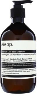 Aésop Body Geranium Leaf gel de douche nettoyant