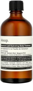 Aēsop Body Geranium Leaf soin hydratant corps