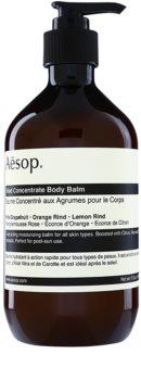 Aēsop Body Rind Concentrate bálsamo corporal hidratante para todo tipo de pieles
