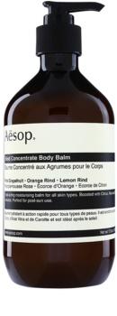 Aēsop Body Rind Concentrate bálsamo hidratante de corpo para todos os tipos de pele