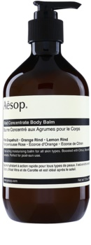 Aēsop Body Rind Concentrate baume corps hydratant pour tous types de peau