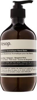 Aésop Body Reverence Aromatique bálsamo hidratante para mãos